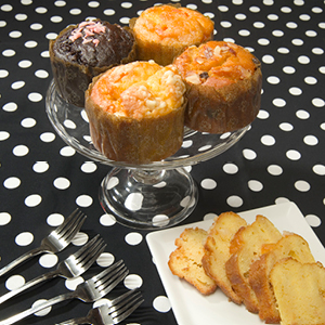 Prosperity Liqueur infused cakes