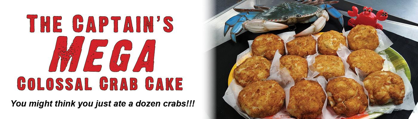 mega colossal crab cakes captn chuckys
