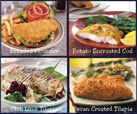 Captn Chuckys fish selections n