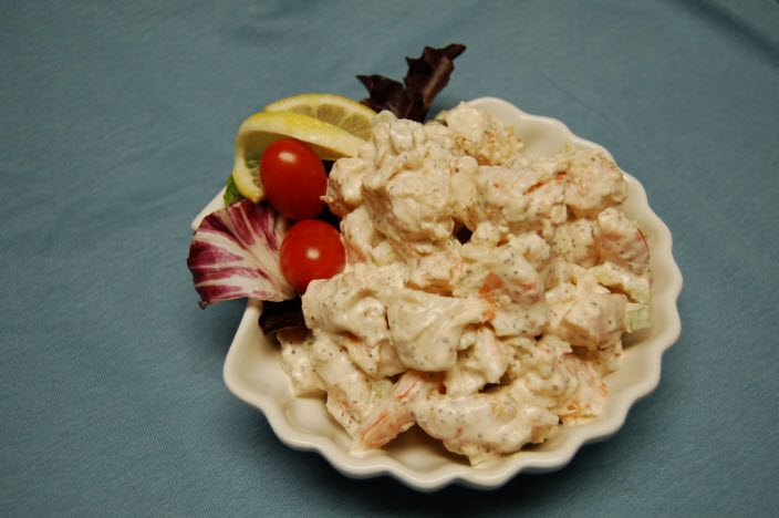 Shrimp Salad Capt'n Chucky's