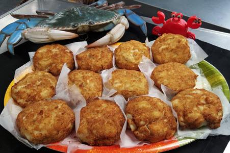 Mega Crab Cakes